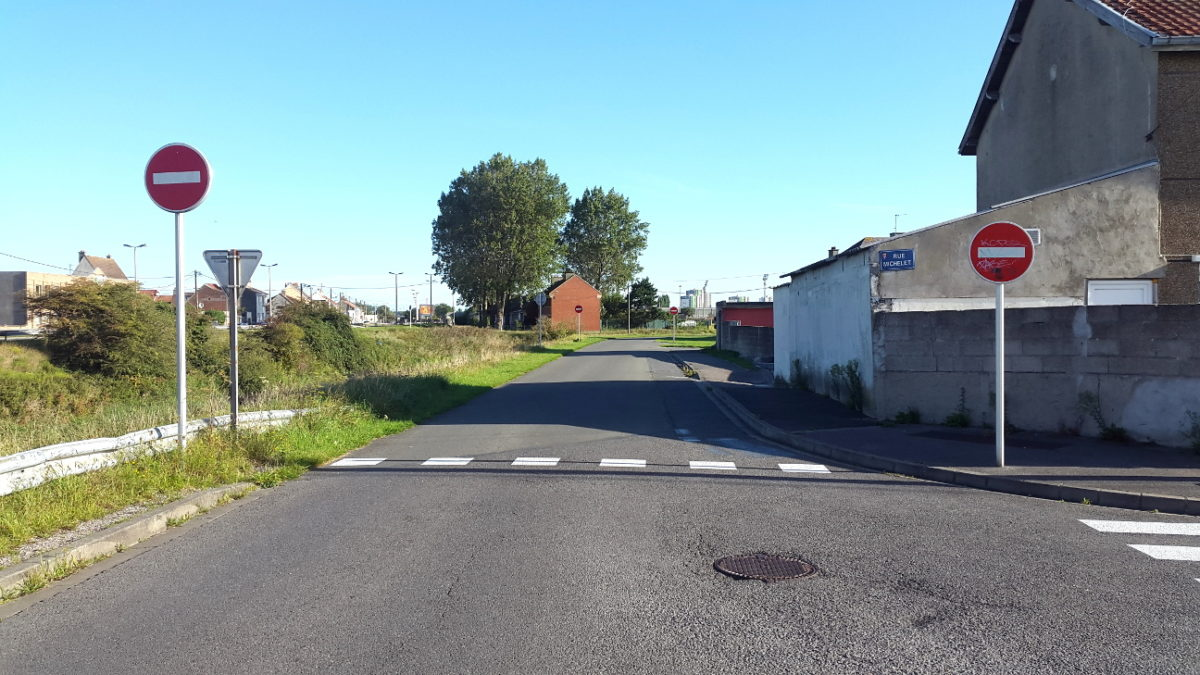 Double sens cyclable : nous demandons la mise en conformité de la ville de Calais